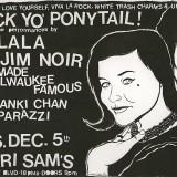 Original Illustration for a Check Yo' Ponytail Flyer