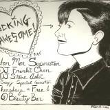 Original Art for the Original LA Party: Fucking Awesome!