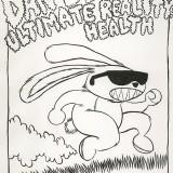 Original Art for a Dan Deacon LA Show. Final Colors by Demonbabies.