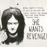 Unused She Wants Revenge T-Shirt Design