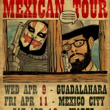 Art for a Mexican Tour that got Cancelled. Final Design by Zonders.