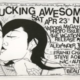 Original Art for the Original LA Party: Fucking Awesome! (But in NYC!)