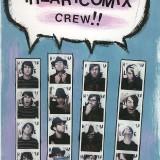 Original page from 2007 IHC SXSW Zine. Made w/ House Paint