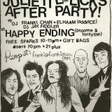 NYC After Party for Juliette Lewis & The Licks