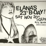 One of many Bday flyers!