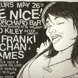 Flyer for short lived NYC party 'Be Nice'