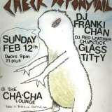 Original Illustration for the First Check Yo' Ponytail Flyer. (in Seattle)