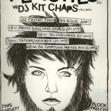 Original Art Work for short lived LA party 'Block Party'