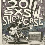 Original Art for IHEARTCOMIX 2011 SXSW Showcase. Final Design by Zonders.